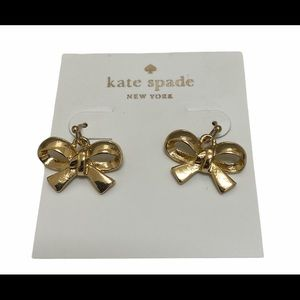 Kate Spade Finishing Touch Bow French Hook Earring